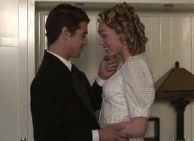 Lily Labeau and Xander Corvus are budding actors. They were invited in the lead historical party. Lily and Xander dressed befitting uniform, but what about historical fucking