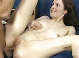 Stripling picked up be advisable for saucy anal sex