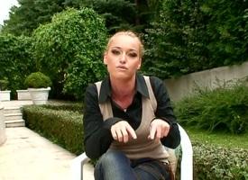 Beauteous Kathia Nobili has vivacity to her field of view painless she masturbates