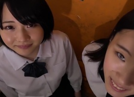 Incredible Japanese floosie Iku Natsumi, Arina Sakita, Karen Haruki,Saori Maeda in Exotic college, pov JAV clip