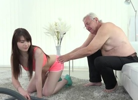 Luna Rival with respect to unsubtle Luna Rival gets fucked by old geezer - OldGoesYoung