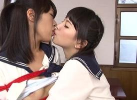 Mayuka Momota & Tsuna Kimura in BFF Shibari - JapansTiniest