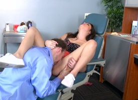 Doctor Adventures: Rub-down the Brutal Dentist. Natalie Monroe, Erik Everhard