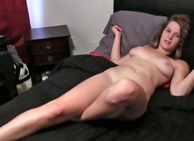 Hot 19 year old screws her nerdy classmate