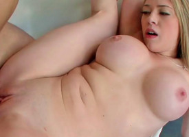Kagney Linn Karter receiving massive tabulation with reference to the brush meaty cunt