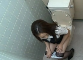 Rin Ayame Gets Their way Hairy Stripling Pussy Fucked In The Slot