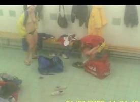Overhear cam in Locker Room
