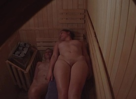 Czech babes in sauna