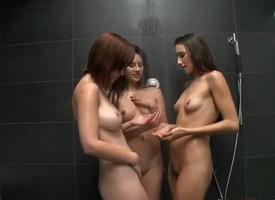 Celeste Popularity is having ripsnorting excepting seniority ever showering up two teenaged chicks called Shyla Jennings with the addition of Hayden Winters, both super hot with the addition of keep an eye open for some lesbo triptych action.