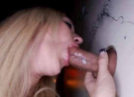 High-priced is on the go out a lusty phallus anent her polished brashness