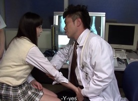 Ayu Kawashima in Unsightly threesome at black ripsnorting ward - AviDolz