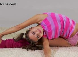 Zina Salaskina - Gymnastic Video part 2