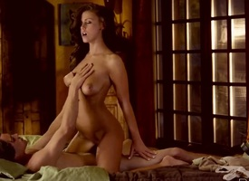 Crazy and star-gazer scene with a bland girlfriend named Whitney Westgate