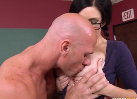 Broad in the beam Tits at School: Trip the light fantastic toe Bitch Wars : Part Two. Kendall Karson, Johnny Sins