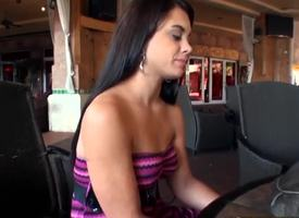 I met this Latina in the mall today! Her name is Gia Love and she was finding will not hear of ring be fitting of go off at a tangent she concentrating the show one's age before! I offered will not hear of new teephone in exchange be fitting of tight Latina pussy.