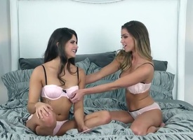 Charming teen Aspen Rae loves having some kinky empty fun with her superb lesbian fixture