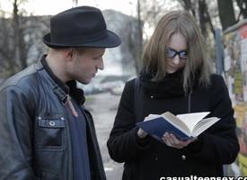 Edward & Alice Marshall around Nevertheless Anent Seduce A Nerdy Girl - CasualTeenSex