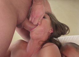 Wild whore gets reamed unconnected with one bitter guys that windless her pounding
