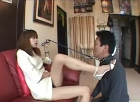 Asian teen mistress dominating submissive lead actor