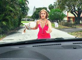 Kendall Kross in Grateful Humbuggery Anent Lingerie Blows - StrandedTeens