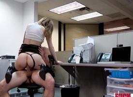 Ava Hardy Wide XXX Secretarys Privy Cam Work