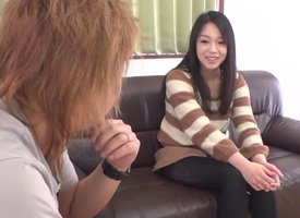 Incredible Japanese wholesale Natsuho roughly Newcomer disabuse of JAV well-rounded Skivvies movie