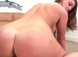 Bella Pinkish receiving big thick schlong in her shaved twat