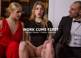 Giselle Palmer & Sarah Vandella & Stirling Cooper involving Act Cums First - StepMomLessons